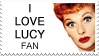 I Love Lucy Fan stamp