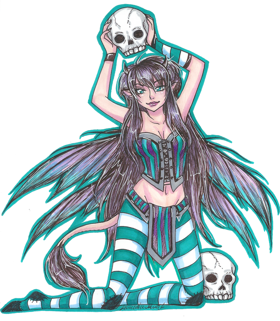 Skull fairy color by Roots-Love on DeviantArt