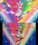 Sailor Moon screencap redraw
