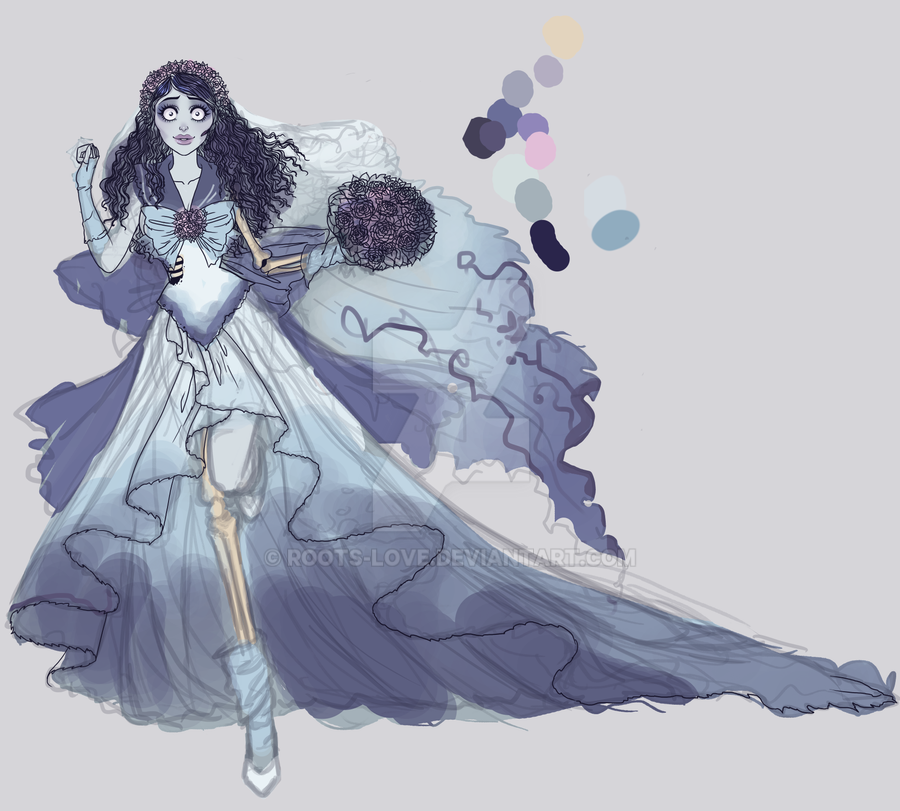 Sailor Corpse Bride wip by Roots-Love