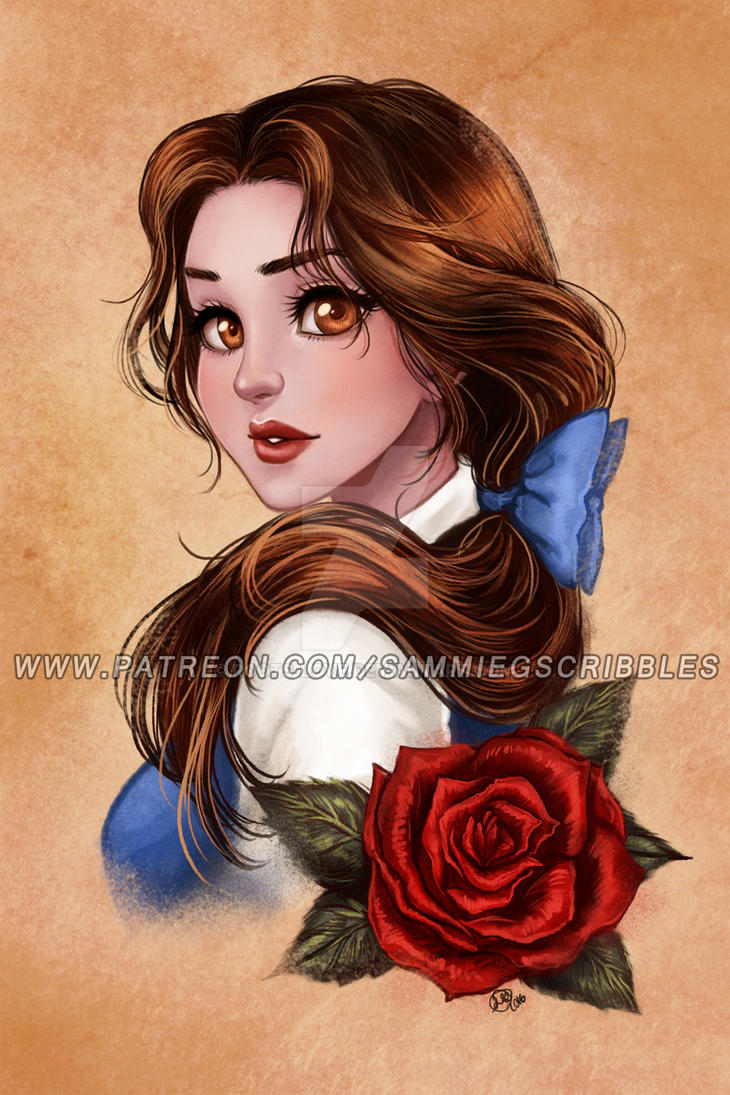Patreon reward- Beauty and the Beast by Roots-Love