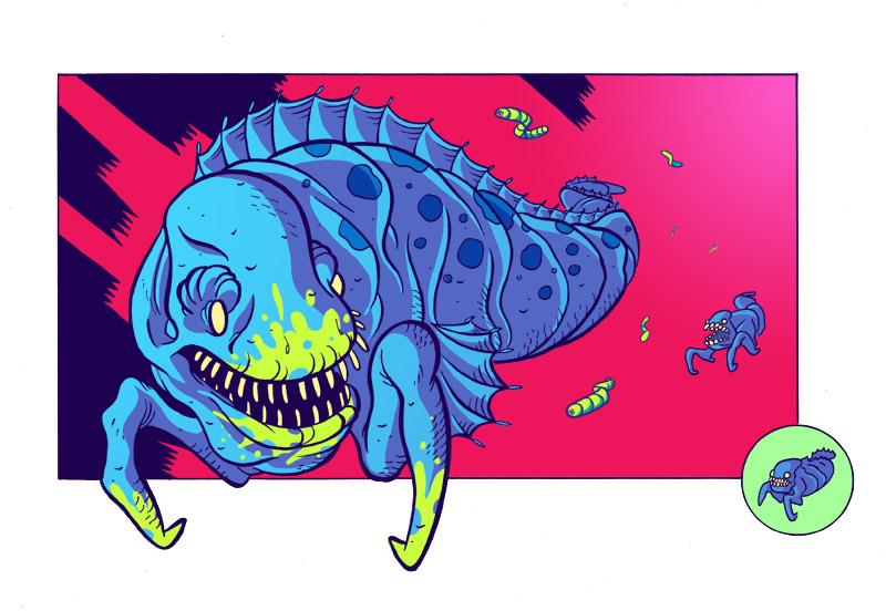 Ichthyosaur by BryanTheEvery