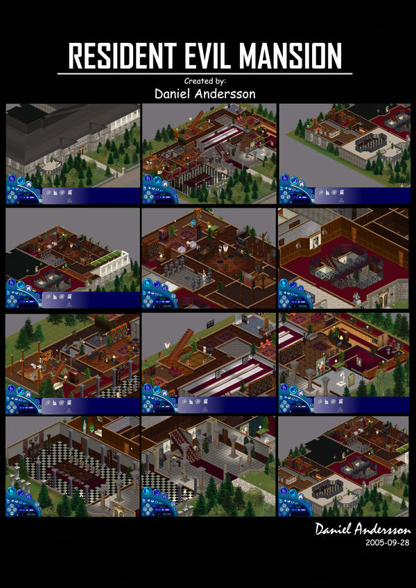 Resident Evil Mansion by SASWHITEKNIGHT