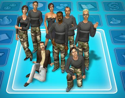 Resident Evil RPD crew by SASWHITEKNIGHT