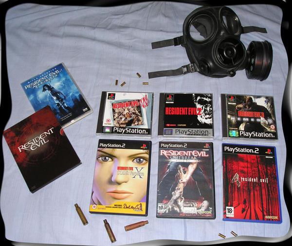Resident Evil montage by SASWHITEKNIGHT