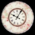 Vintage Clock - Roses 1