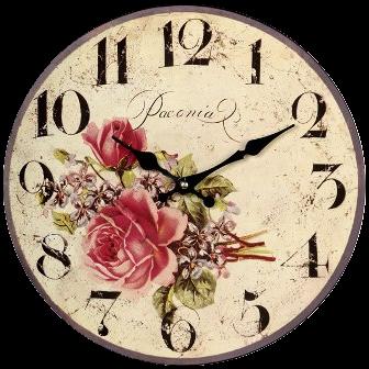 vintage clock roses 2 by etienditerlizzi on deviantart