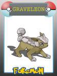 Fakemon - Graveleon