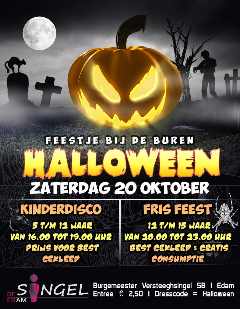 Halloween flyer by bslegt on deviantart for Halloween flyer ideas