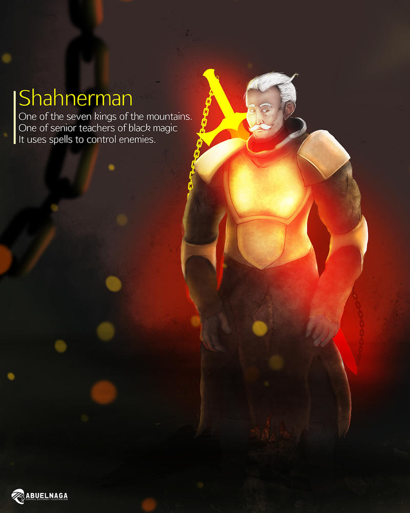 Shahnerman by AbuelnagaArt