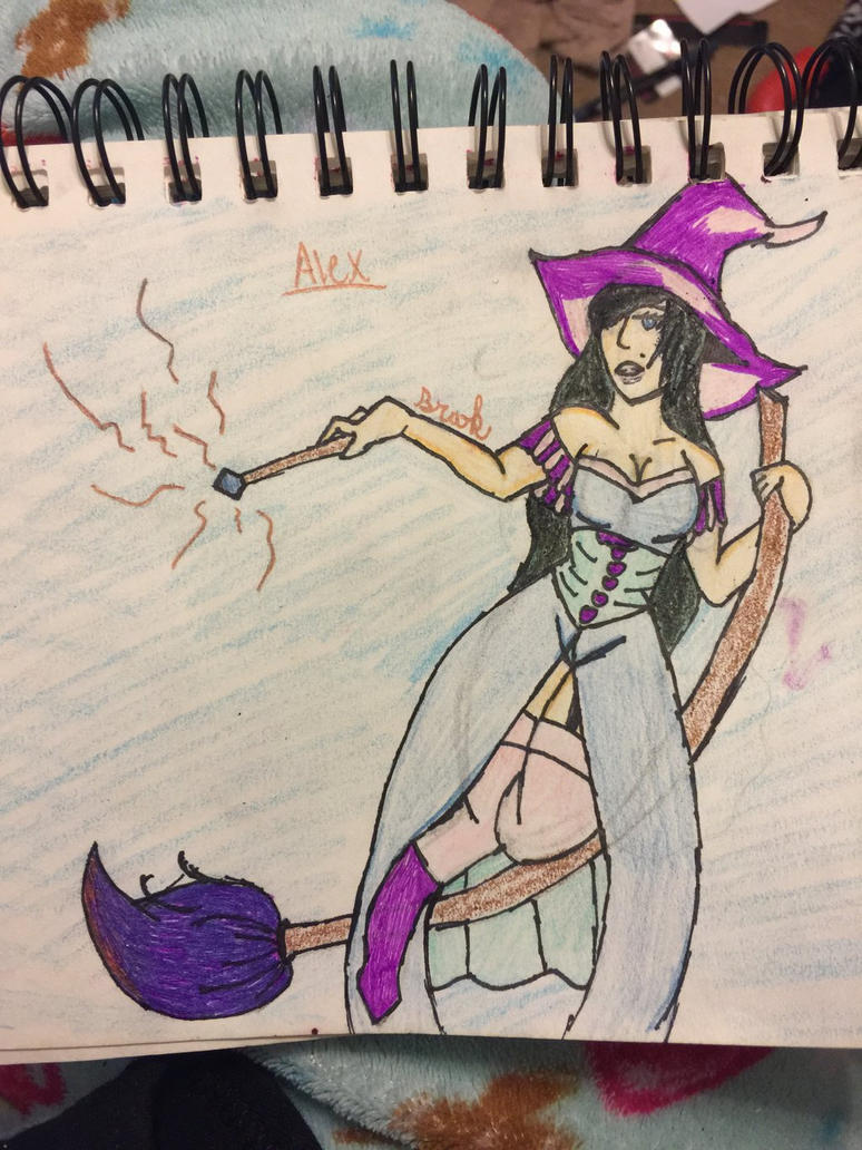 Witch OC by xbroken-and-fixedx