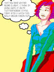 hipster pop art by coolmonkeyd