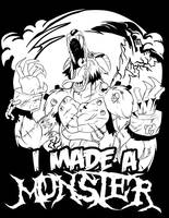 I made a monster tee by coolmonkeyd