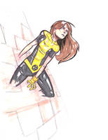 Ultimate Kitty Pryde by coolmonkeyd