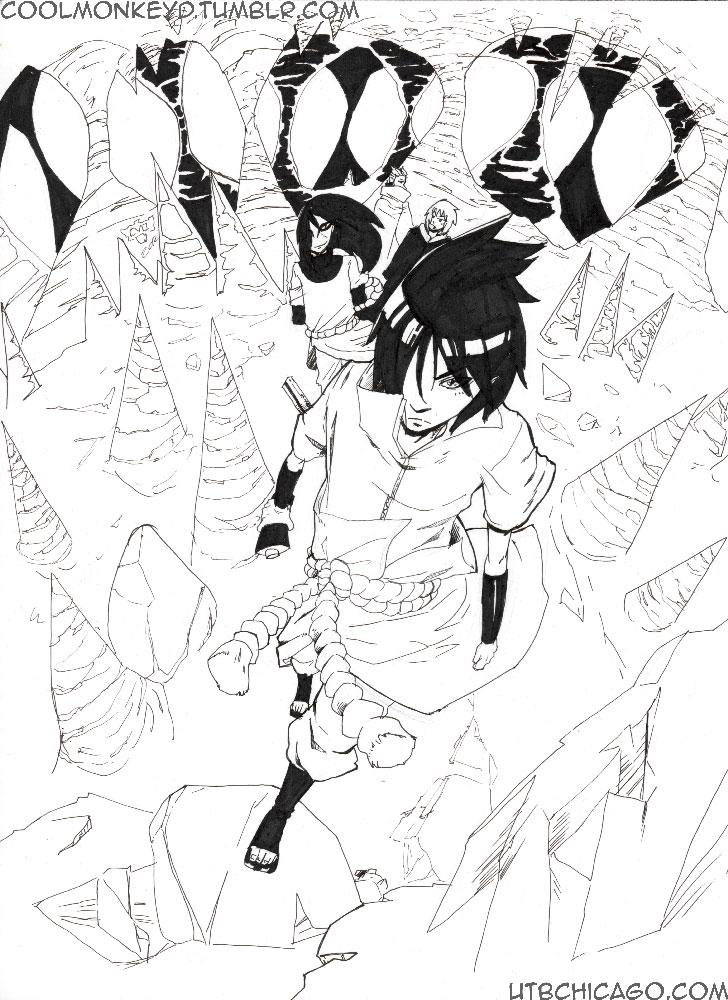 Sasuke ready to start by coolmonkeyd