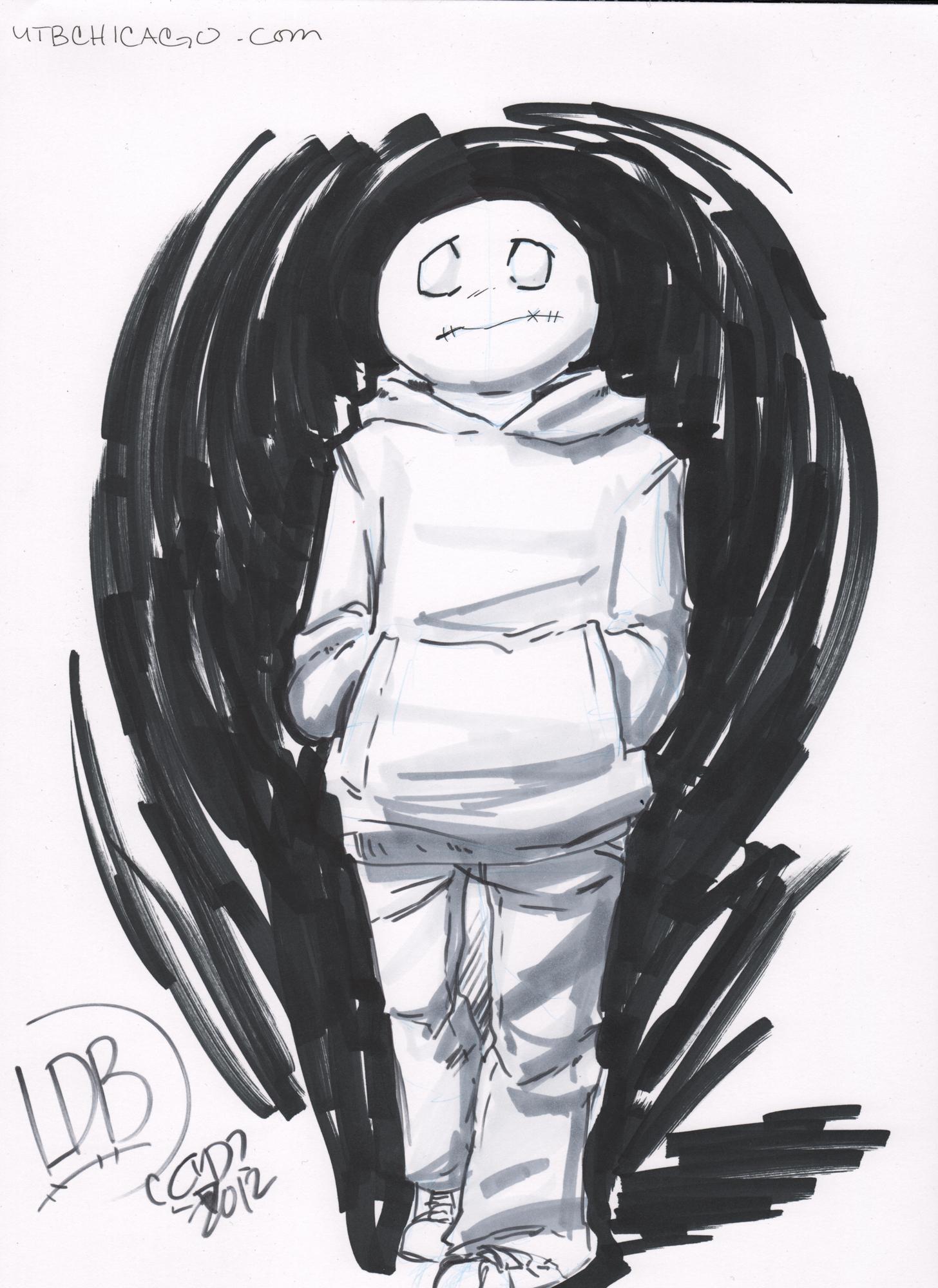 Lil' depressed boy by coolmonkeyd