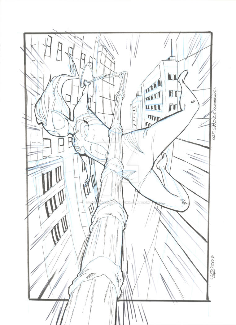 Spider Woman Ultimate by coolmonkeyd