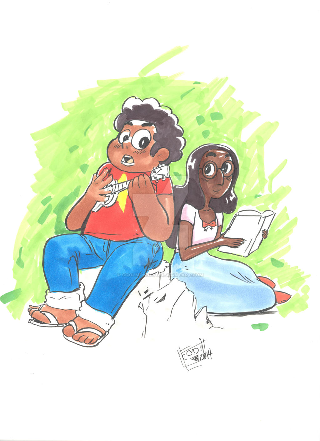 Steven And Connie by coolmonkeyd