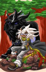 Black Cat Katie by coolmonkeyd