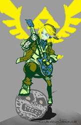 The GuitarHero of Time by coolmonkeyd