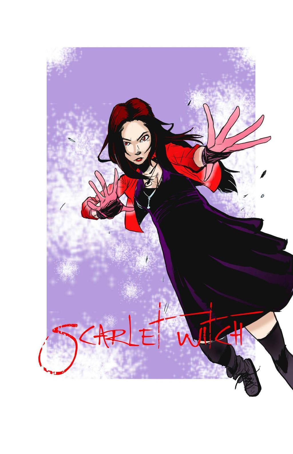 Scarlet Witch by coolmonkeyd