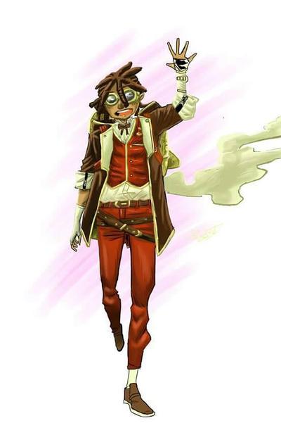 steampunk explorer  by coolmonkeyd