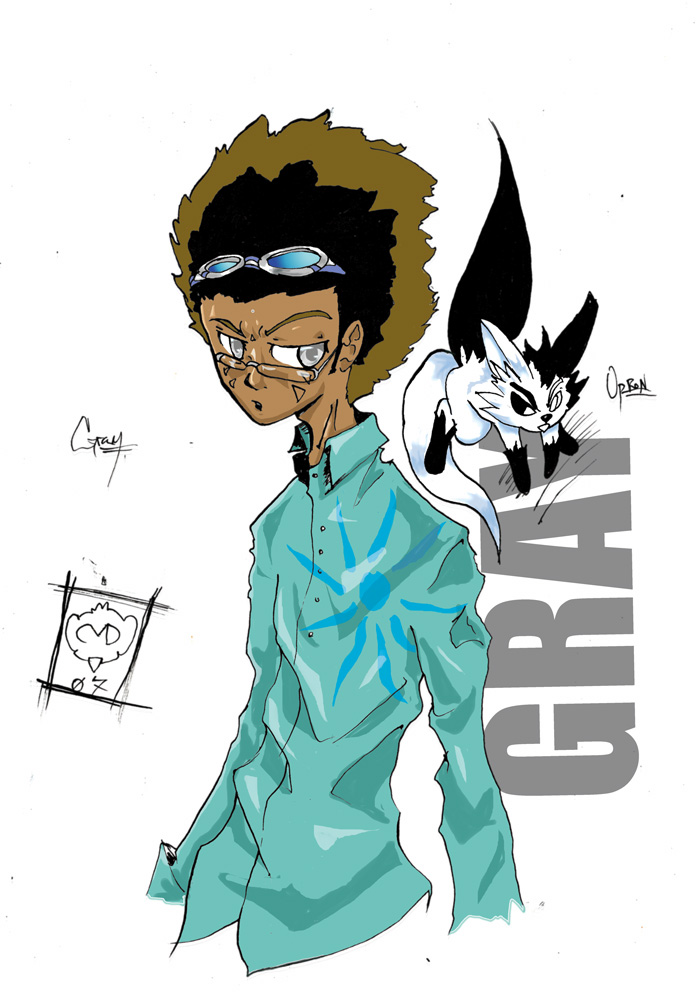 Gray + Oprion by coolmonkeyd
