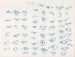 60 Eyes by Pencil-Fluke