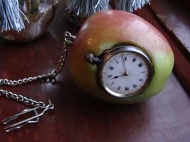 Steampunk apple by LittleMissBlackart