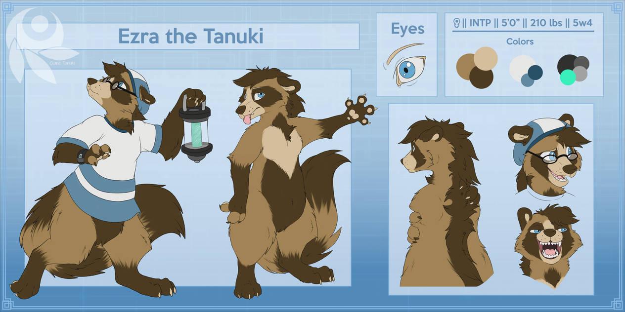 Ezra the Tanuki Reference Sheet {2020}