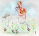 Easter Bonnet (Draw A Centaur Day)