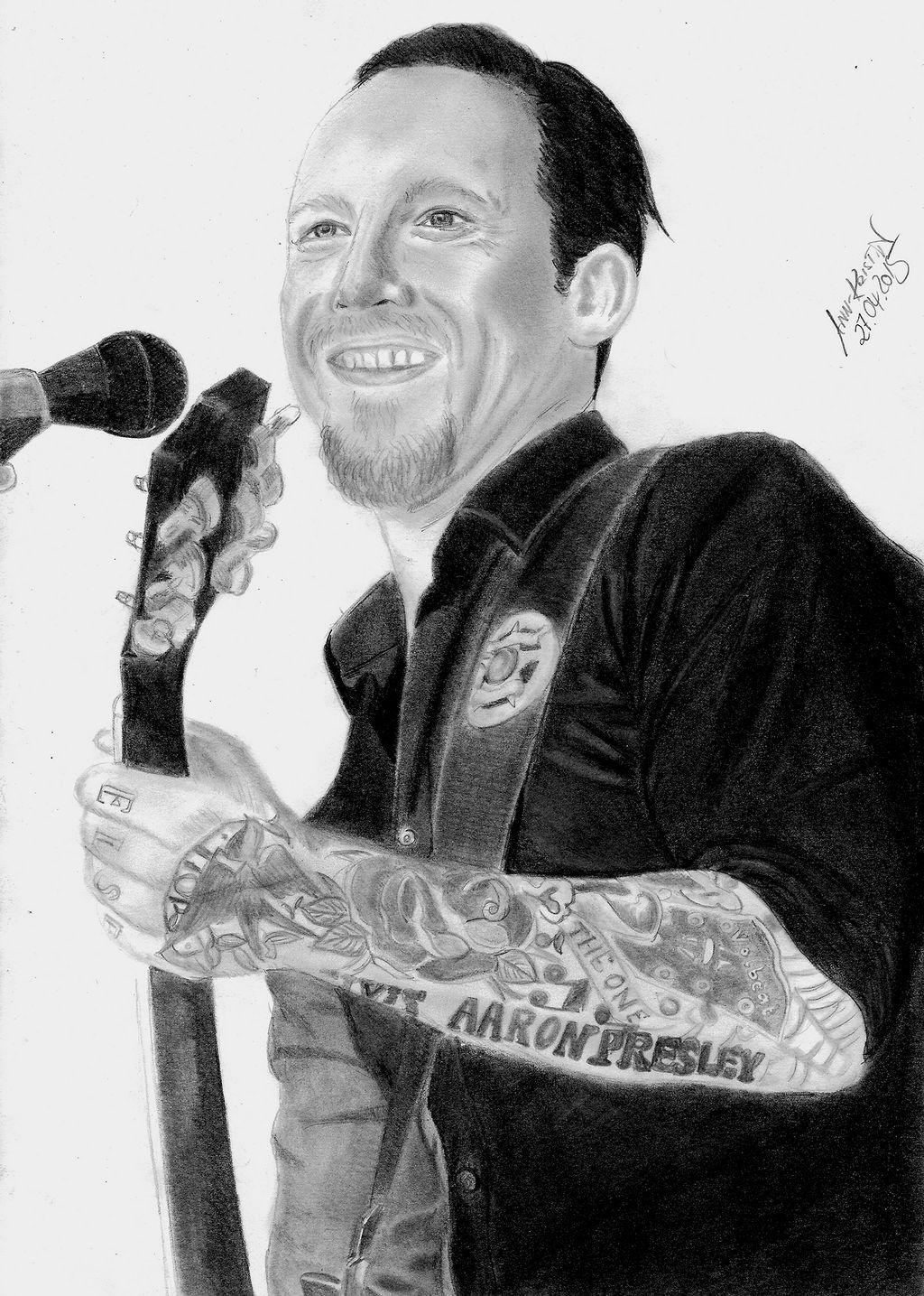 Tattoos poulsen volbeat michael Volbeat Interview