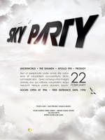 Sky Party - Poster template by isoarts2