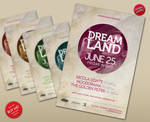 Dreamland Vol.2 - Party Flyer
