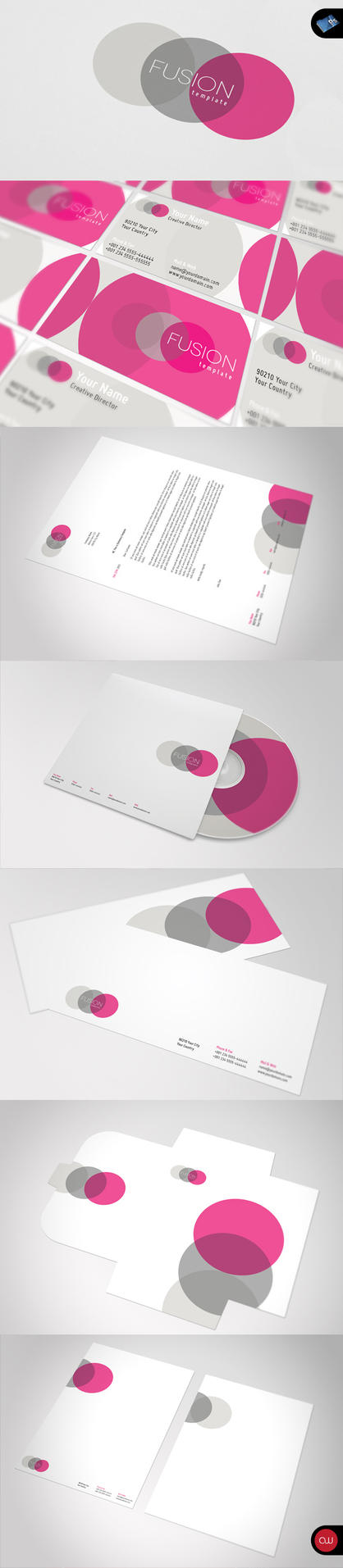 Fusion Stationary Template by isoarts2