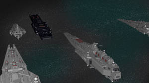 The Fleet So far by Ryuukei8569