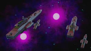 UAF Light Cruisers and Escorts