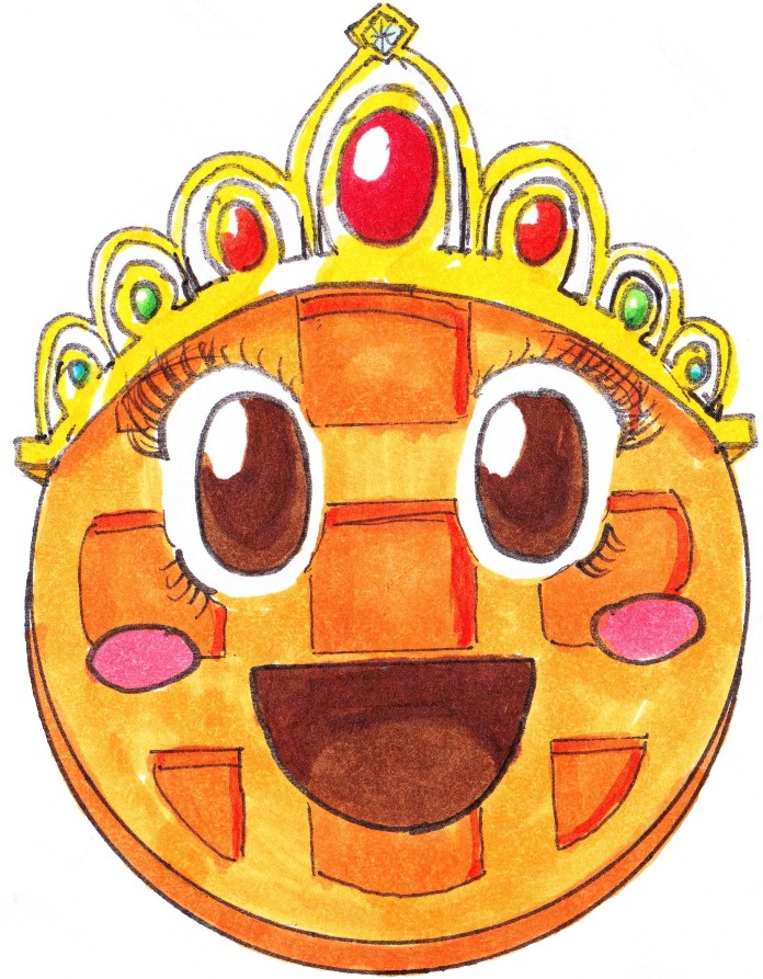 Princess Waffle by uniqueguy