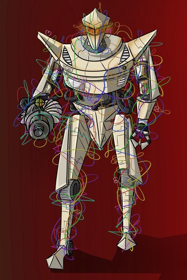 Wire Robot by uniqueguy