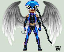 New 52 Earth 2 Hawkgirl by EverydayBattman