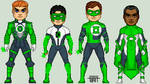 Earth's Green Lanterns Redesigns