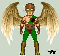Hawkman Redesign by EverydayBattman