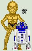 C-3PO and R2-D2 by EverydayBattman