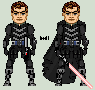 Darth Caedus by EverydayBattman
