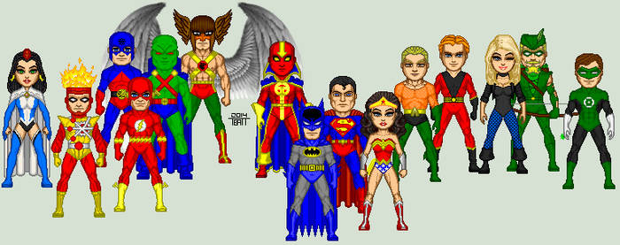 Justice League of America Circa 1982