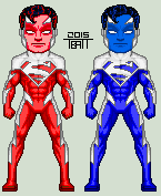 Superman Red/Superman Blue by EverydayBattman
