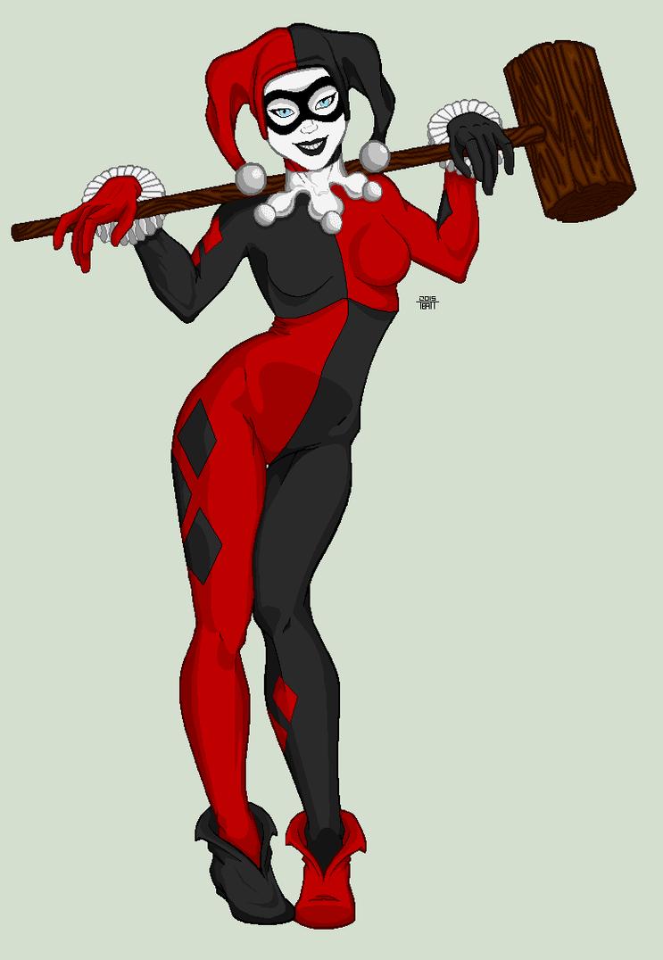 Harley Quinn by EverydayBattman