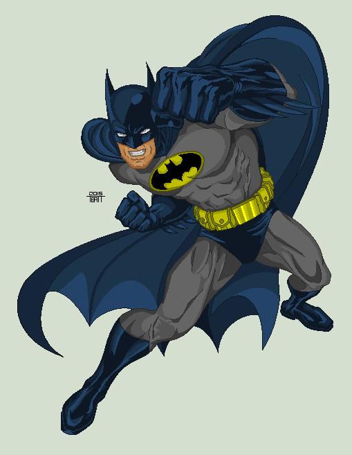 Batman by EverydayBattman