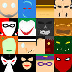 Batman Villains - Minimalism