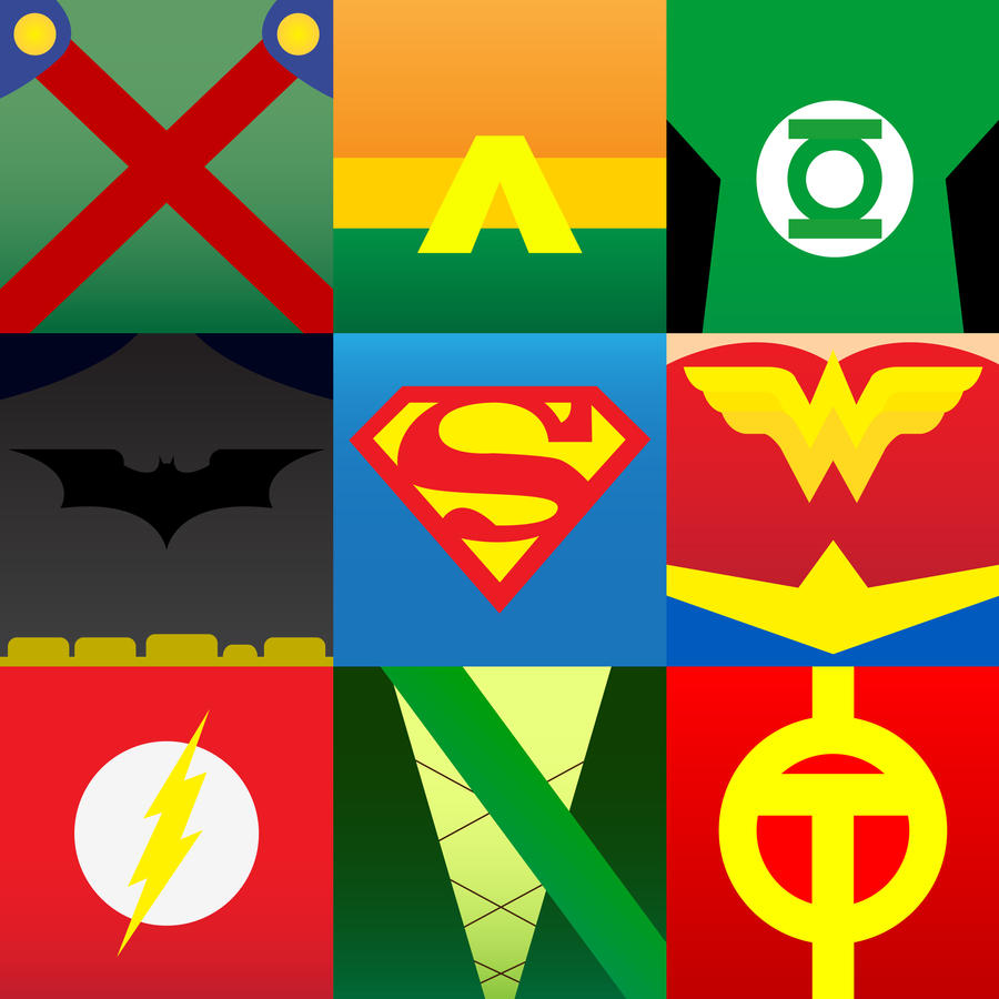 Justice League Emblems Justice League of Amer...